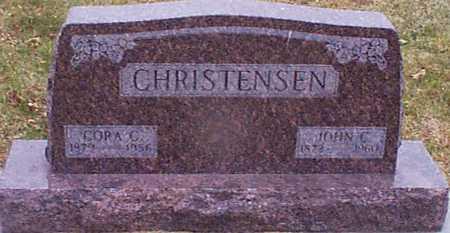 CHRISTENSEN, CORA C - Shelby County, Iowa | CORA C CHRISTENSEN
