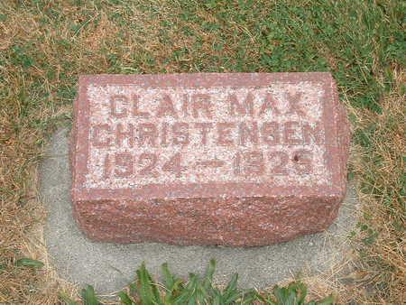 CHRISTENSEN, CLAIRE MAX - Shelby County, Iowa | CLAIRE MAX CHRISTENSEN
