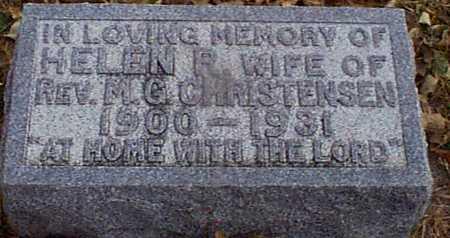 CHRISTENSEN, HELEN R - Shelby County, Iowa | HELEN R CHRISTENSEN