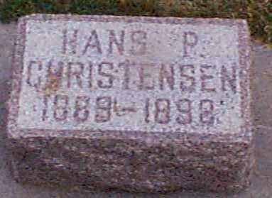 CHRISTENSEN, HANS P - Shelby County, Iowa | HANS P CHRISTENSEN