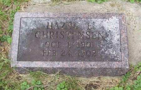 CHRISTENSEN, HAZEL E. - Shelby County, Iowa   HAZEL E. CHRISTENSEN