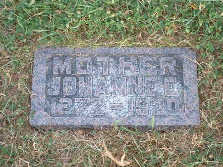 CHRISTENSEN, JOHANNE E - Shelby County, Iowa | JOHANNE E CHRISTENSEN
