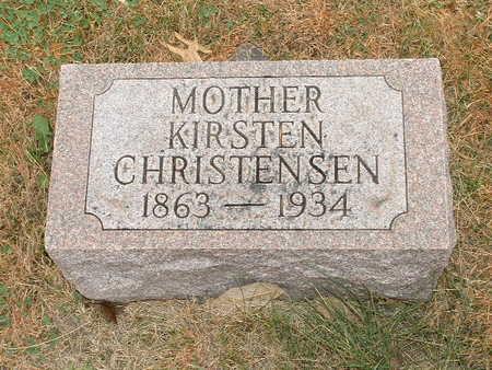 CHRISTENSEN, KIRSTEN - Shelby County, Iowa | KIRSTEN CHRISTENSEN