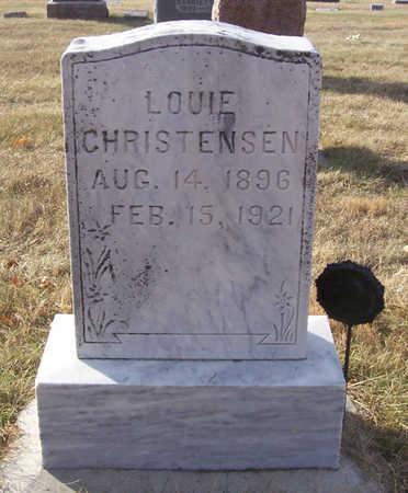CHRISTENSEN, LOUIE - Shelby County, Iowa | LOUIE CHRISTENSEN