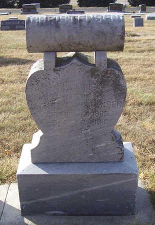 CHRISTENSEN, MATTE - Shelby County, Iowa   MATTE CHRISTENSEN