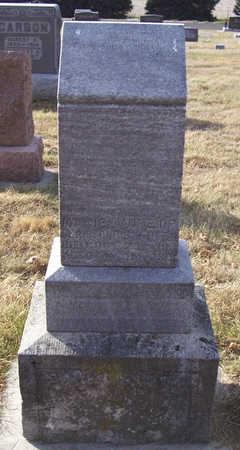 CHRISTENSEN, MARIE - Shelby County, Iowa   MARIE CHRISTENSEN
