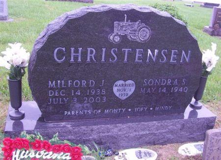 CHRISTENSEN, MILFORD J. - Shelby County, Iowa | MILFORD J. CHRISTENSEN