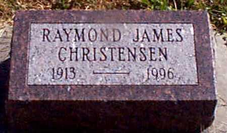 CHRISTENSEN, RAYMOND JAMES - Shelby County, Iowa   RAYMOND JAMES CHRISTENSEN