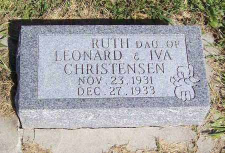 CHRISTENSEN, RUTH - Shelby County, Iowa | RUTH CHRISTENSEN