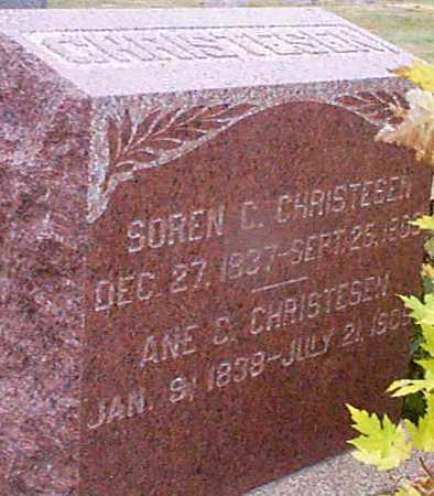 CHRISTENSEN, SOREN C - Shelby County, Iowa | SOREN C CHRISTENSEN