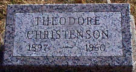 CHRISTENSEN, THEODORE - Shelby County, Iowa | THEODORE CHRISTENSEN