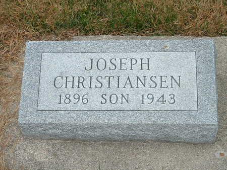 CHRISTIANSEN, JOSEPH - Shelby County, Iowa | JOSEPH CHRISTIANSEN