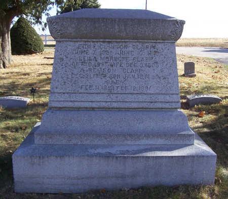 CLAPP, EDWY CLINTON & LEILA (LOT-REVERSE) - Shelby County, Iowa | EDWY CLINTON & LEILA (LOT-REVERSE) CLAPP
