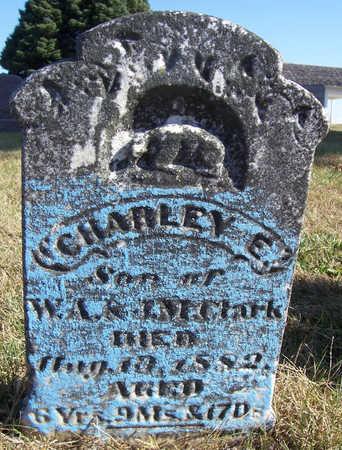 CLARK, CHARLEY E. - Shelby County, Iowa | CHARLEY E. CLARK