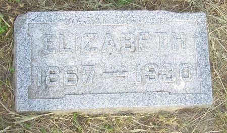CLARK, ELIZABETH - Shelby County, Iowa   ELIZABETH CLARK