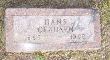 CLAUSEN, HANS - Shelby County, Iowa | HANS CLAUSEN