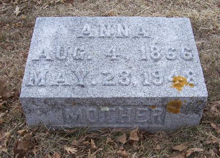 CLAUSSEN, ANNA (MOTHER) - Shelby County, Iowa | ANNA (MOTHER) CLAUSSEN