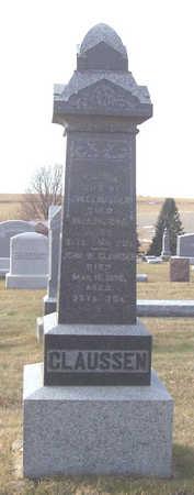 CLAUSSEN, JOHN W. - Shelby County, Iowa | JOHN W. CLAUSSEN