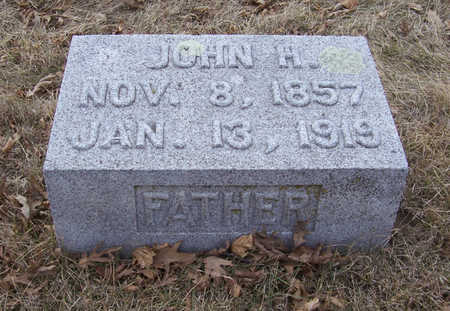 CLAUSSEN, JOHN H. (FATHER) - Shelby County, Iowa   JOHN H. (FATHER) CLAUSSEN