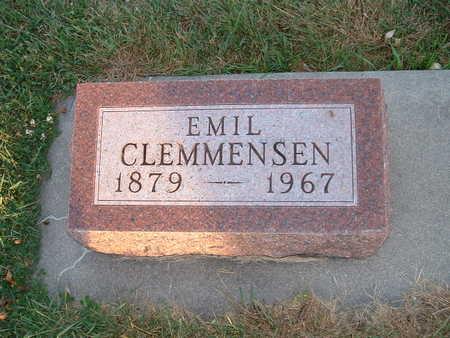 CLEMMENSEN, EMIL  HANS - Shelby County, Iowa | EMIL  HANS CLEMMENSEN