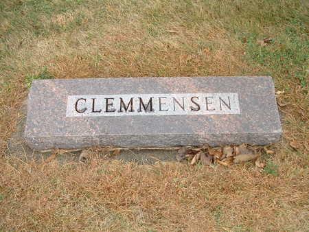 CLEMMENSEN, VALBORG - Shelby County, Iowa | VALBORG CLEMMENSEN