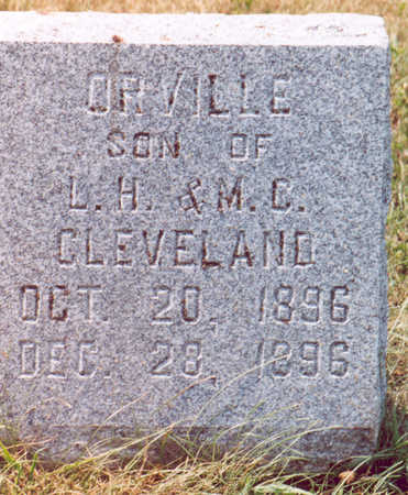CLEVELAND, ORVILLE - Shelby County, Iowa | ORVILLE CLEVELAND