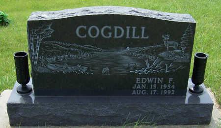 COGDILL, EDWIN F. - Shelby County, Iowa   EDWIN F. COGDILL