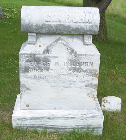 COLBURN, GEORGE W. - Shelby County, Iowa   GEORGE W. COLBURN