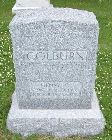 COLBURN, HENRY C. - Shelby County, Iowa   HENRY C. COLBURN