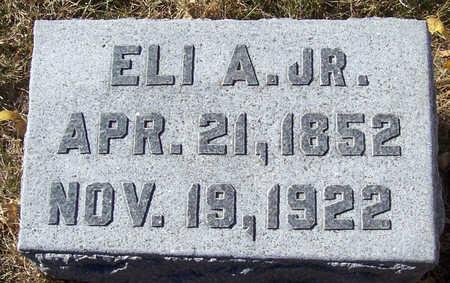 COLLINS, ELI A., JR. - Shelby County, Iowa | ELI A., JR. COLLINS