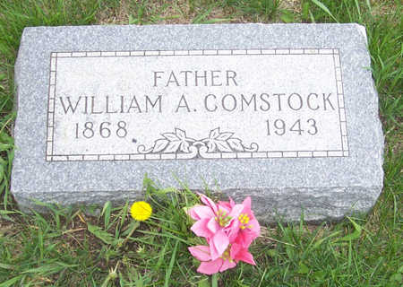 COMSTOCK, WILLIAM A. - Shelby County, Iowa   WILLIAM A. COMSTOCK