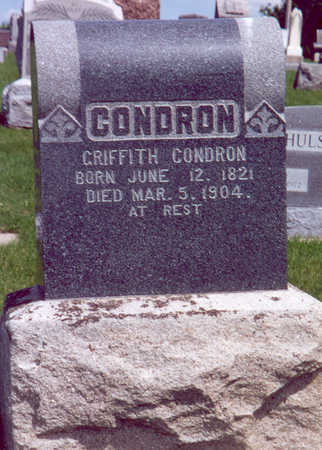 CONDRON, GRIFFITH - Shelby County, Iowa | GRIFFITH CONDRON