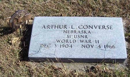 CONVERSE, ARTHUR L. (MILITARY) - Shelby County, Iowa | ARTHUR L. (MILITARY) CONVERSE