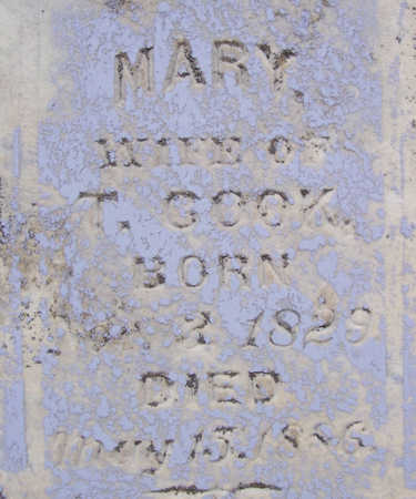 COOK, MARY (CLOSE-UP) - Shelby County, Iowa | MARY (CLOSE-UP) COOK