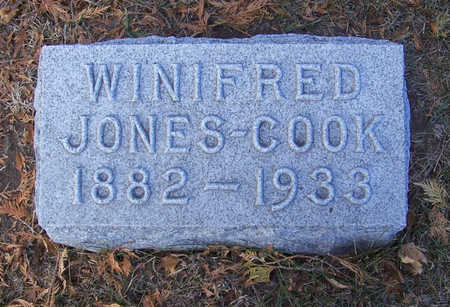 COOK, WINIFRED - Shelby County, Iowa | WINIFRED COOK
