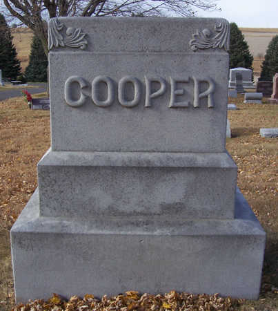 COOPER, DANIEL C. & THERESA (LOT) - Shelby County, Iowa   DANIEL C. & THERESA (LOT) COOPER