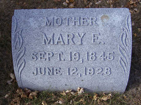 COOPER, MARY E. (MOTHER) - Shelby County, Iowa | MARY E. (MOTHER) COOPER