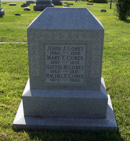 COREY, MARY F. - Shelby County, Iowa | MARY F. COREY