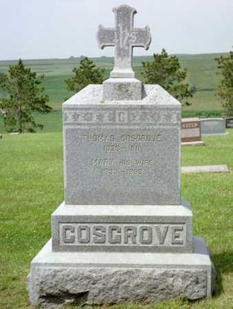 COSGROVE, MARY - Shelby County, Iowa | MARY COSGROVE