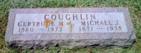 KORTH COUGHLIN, GERTRUDE MARIA - Shelby County, Iowa | GERTRUDE MARIA KORTH COUGHLIN