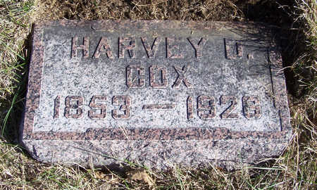 COX, HARVEY D. - Shelby County, Iowa | HARVEY D. COX