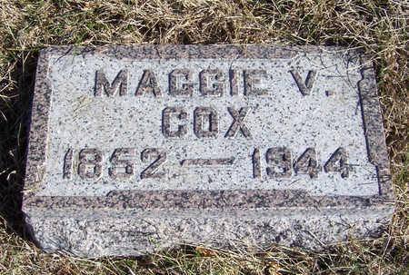 COX, MAGGIE V. - Shelby County, Iowa | MAGGIE V. COX