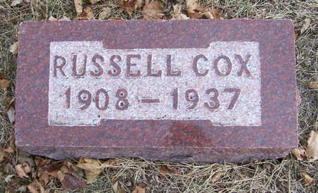 COX, RUSSELL - Shelby County, Iowa | RUSSELL COX