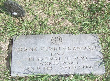 CRANDALL, FRANK ELVIN - Shelby County, Iowa   FRANK ELVIN CRANDALL