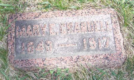 CRANDALL, MARY E. - Shelby County, Iowa   MARY E. CRANDALL