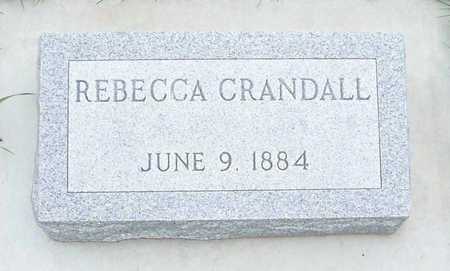 CRANDALL, REBECCA - Shelby County, Iowa | REBECCA CRANDALL
