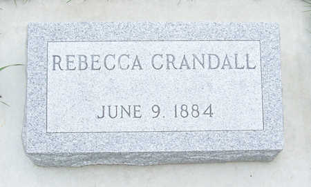 LEMONS CRANDALL, REBECCA - Shelby County, Iowa | REBECCA LEMONS CRANDALL