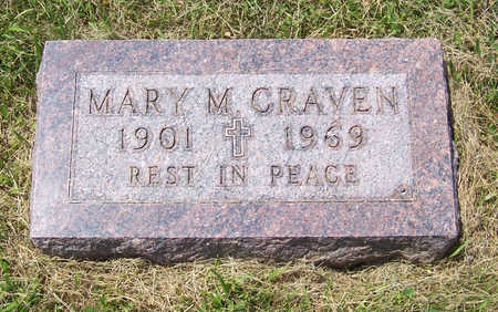 CRAVEN, MARY M. - Shelby County, Iowa | MARY M. CRAVEN