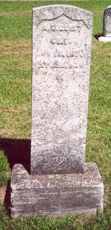 CRIST (MEMORIAL STONE), ARTHUR D. - Shelby County, Iowa | ARTHUR D. CRIST (MEMORIAL STONE)