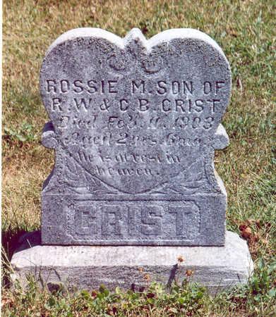 CRIST, ROSSIE M. - Shelby County, Iowa | ROSSIE M. CRIST